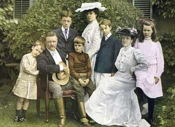 Theodore Roosevelt, Jr. Family