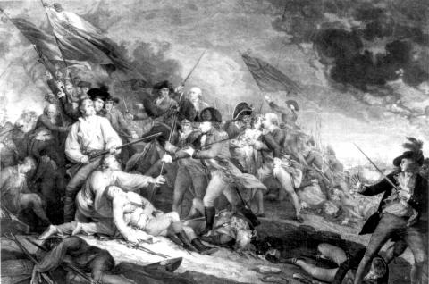 Death at the Battle of Bunker Hill