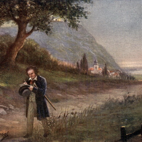 beethoven composing symphonies