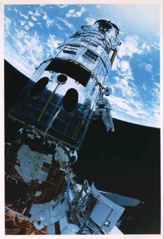 Hubble - Repairs in Space American History Aviation & Space Exploration STEM Tragedies and Triumphs Visual Arts
