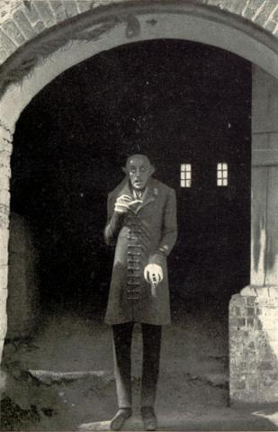 MAX SCHRECK (Illustration) Biographies Famous People Film Geography Social Studies World History Fiction Legends and Legendary People
