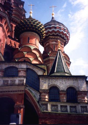 Domes of St. Basil's Cathedral Social Studies World History Visual Arts Philosophy