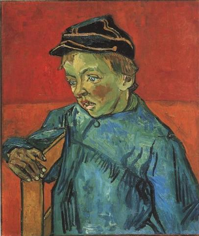 van Gogh - Schoolboy (Camille Roulin), The Tragedies and Triumphs Nineteenth Century Life Visual Arts