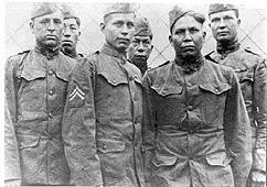 Chocktaws - Soldiers of WW-I American History Famous Historical Events Native-Americans and First Peoples  Social Studies Tragedies and Triumphs World War I