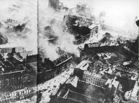 Warsaw Burning - September, 1939 Tragedies and Triumphs Famous Historical Events Social Studies Visual Arts World War II