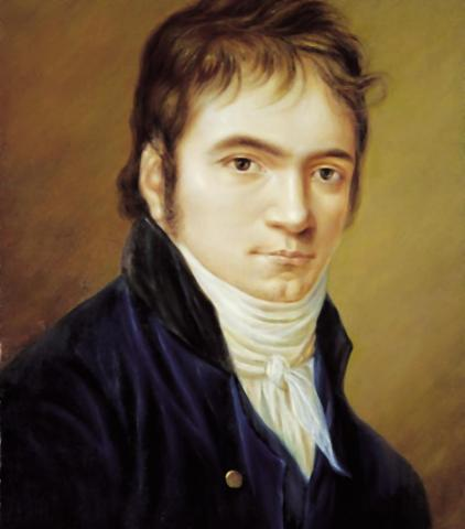 Portrait of Beethoven Famous People History Music Social Studies STEM Biographies
