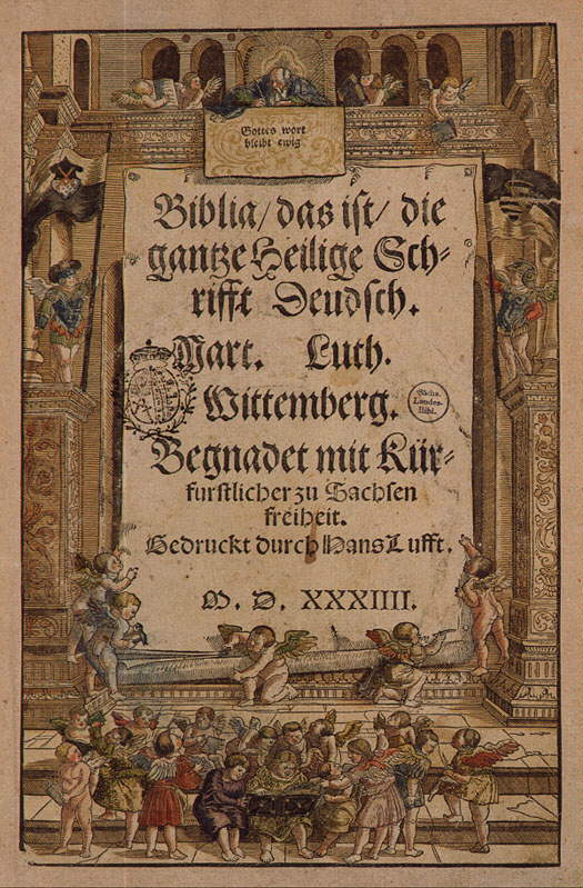 Luther's Translation of the Bible