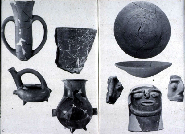 pottery of ancient troy