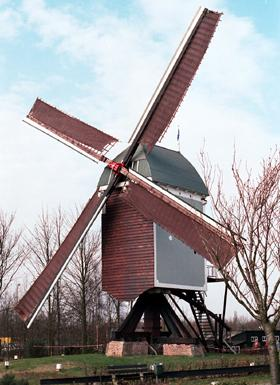 Windmill in Zundert Geography History Visual Arts Nineteenth Century Life