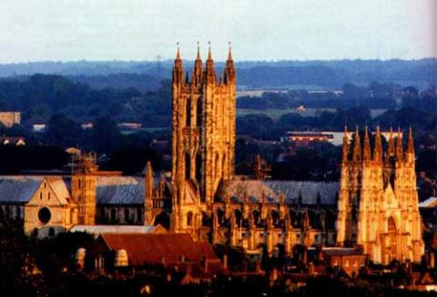 Canterbury Geography Medieval Times Social Studies World History Philosophy