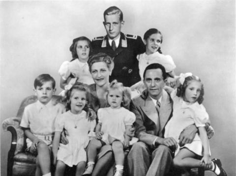 Joseph and Magda Goebbels - With Their Children Social Studies Biographies Famous People World History World War II