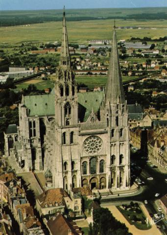 Cathedral in Chartres Visual Arts Philosophy Geography
