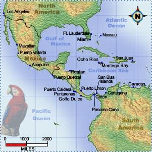 Panama - Map Locator World History Geography Social Studies