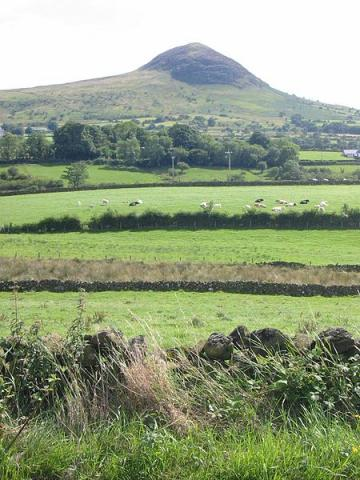 Mount Slemish - County Antrim Geography Ancient Places and/or Civilizations History