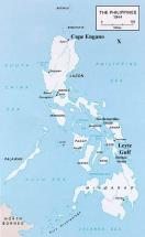 1944 Map of the Philippines