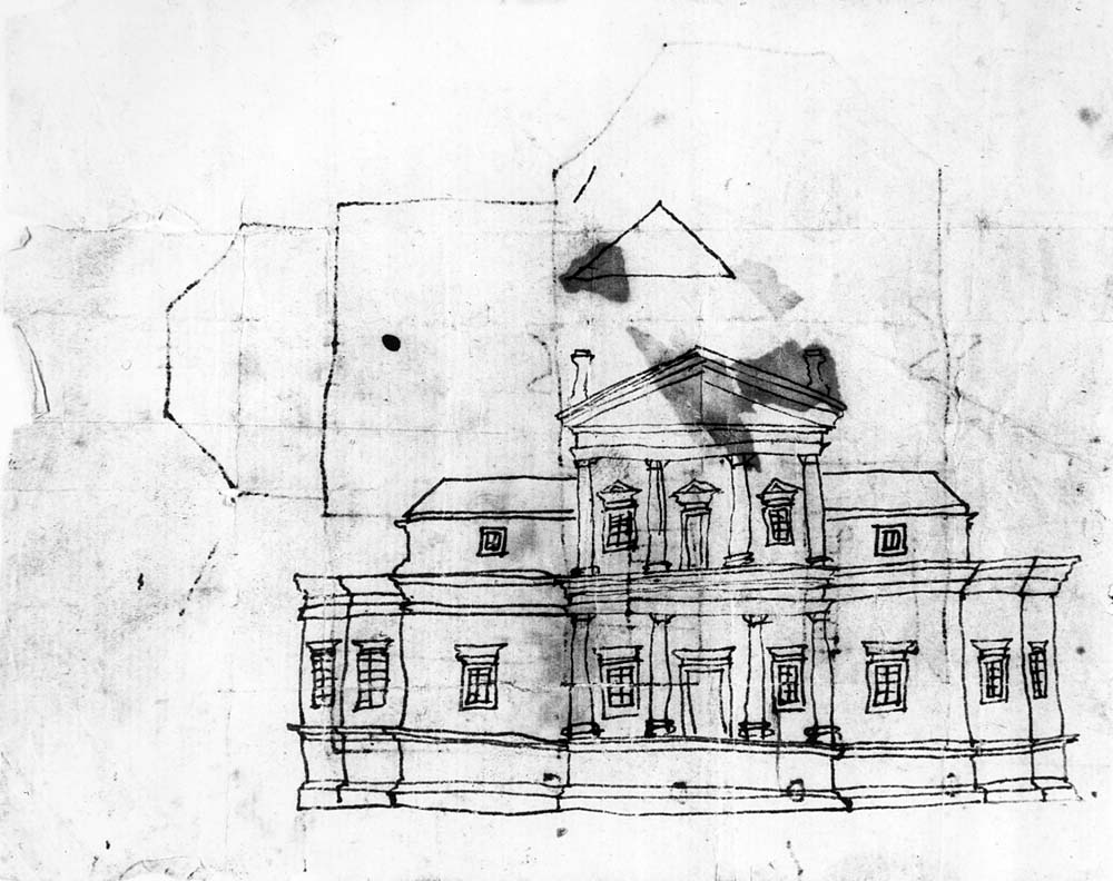 Jefferson 39 s plan creating monticello for Monticello house plans