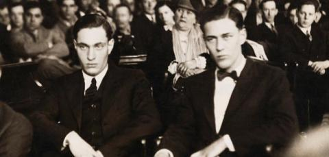 Leopold and Loeb (Illustration) Film Social Studies Awesome Radio - Narrated Stories Crimes and Criminals American History Trials