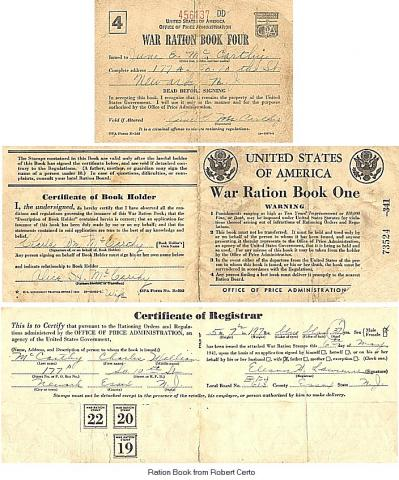 America: War Ration Book Government American History Social Studies World War II