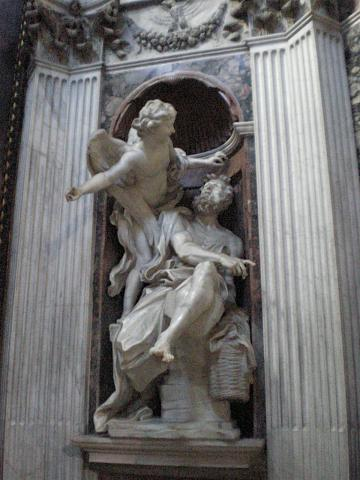 Angels & Demons - Habbakuk and the Angel, by Bernini Visual Arts Famous People Philosophy STEM