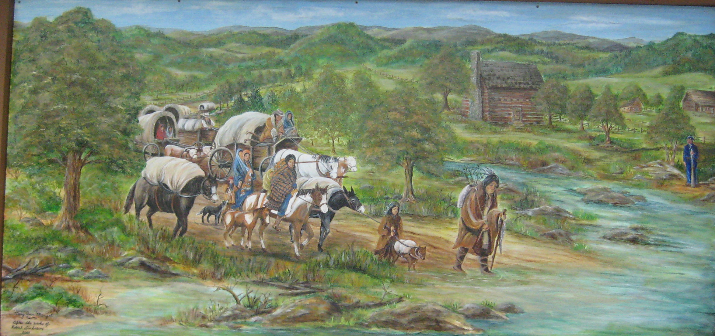 the hard times of the cherokee indiand in the 19th century