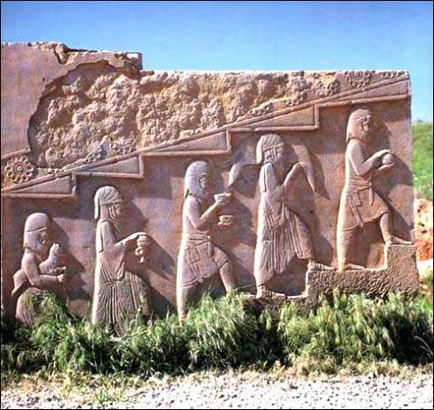 Ruins at Persepolis Ancient Places and/or Civilizations Geography Visual Arts World History Archeological Wonders