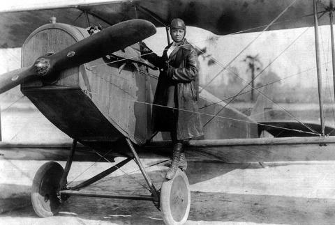 Bessie Coleman - Stunt Pilot Visual Arts Biographies African American History Social Studies Aviation & Space Exploration Tragedies and Triumphs