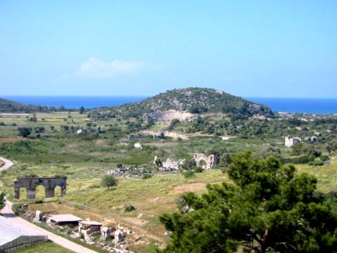 View of Turkey's Coastline Ancient Places and/or Civilizations History Social Studies World History Geography