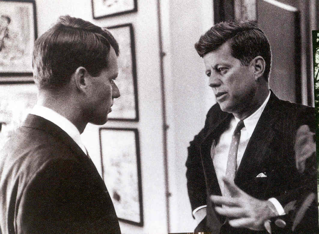 Robert Kennedy With President Kennedy
