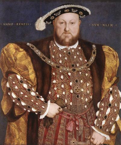 Henry VIII World History Famous People Visual Arts