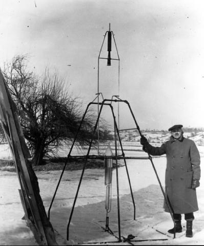 Goddard - First Liquid Fuel Rocket American History Famous People Aviation & Space Exploration STEM Tragedies and Triumphs