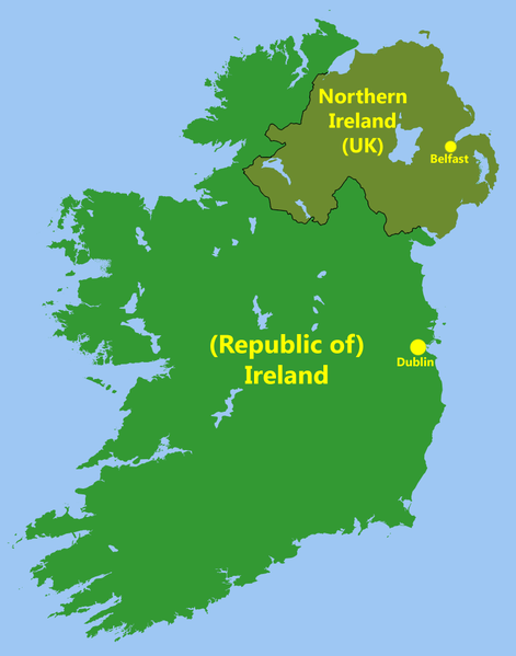Dublin Location in Ireland