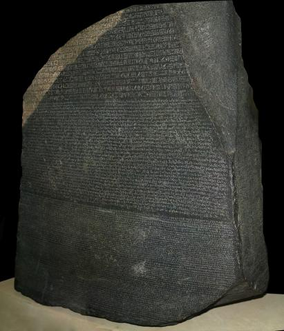 Rosetta Stone (Illustration) Ancient Places and/or Civilizations Archeological Wonders Law and Politics Social Studies World History