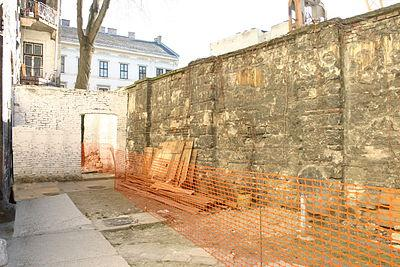 Ghetto wall in Budapest 0 Member Stories Famous Historical Events Famous People History