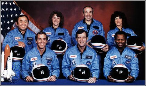 Challenger's Crew - Mission STS 51-L