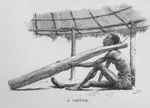 Captive Slave - Example of Control Slaves and Slave Owners American History African American History Social Studies Visual Arts