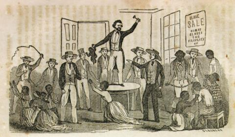 SPLIT-UP FAMILIES (Illustration) Biographies African American History Civil Rights Law and Politics Nineteenth Century Life Social Studies American History Slaves and Slave Owners