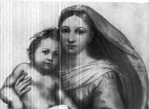 Copy of Raphael's Sistine Madonna Visual Arts Philosophy