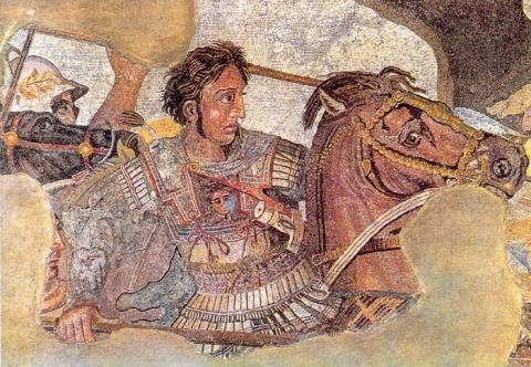 Mosaic of Alexander Discovered in Pompeii Visual Arts Legends and Legendary People Ancient Places and/or Civilizations World History