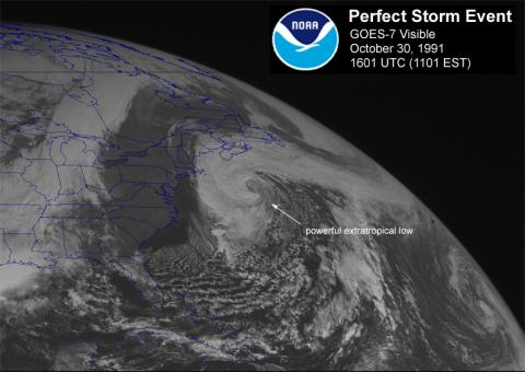 Perfect Storm Event - by NOAA American History Disasters STEM Visual Arts