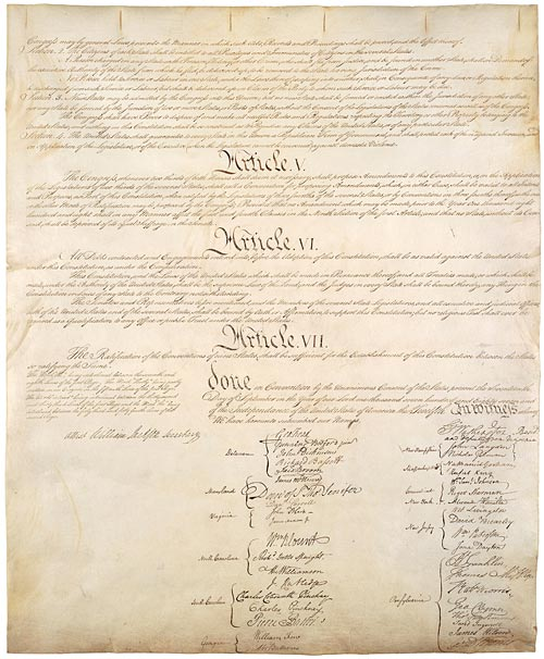 We the People - The U.S. Constitution