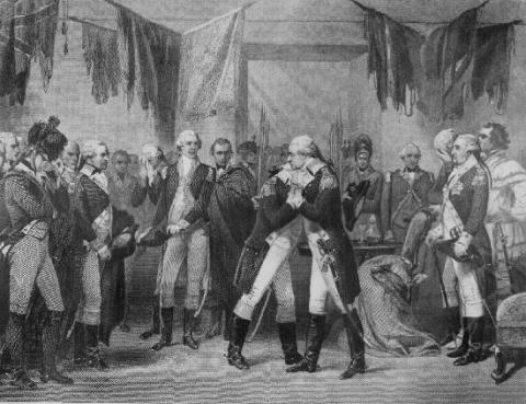 George Washington - Bidding Farewell to his Officers American History American Revolution Famous Historical Events Famous People Social Studies Visual Arts