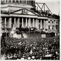 Abraham Lincoln - At His First Inauguration