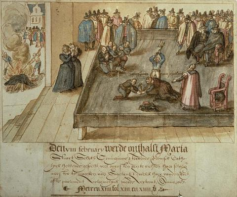 Mary's Execution - Witnessed by the Masses Famous People Social Studies World History Famous Historical Events Disasters