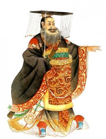 First Emperor of China (Illustration) Ancient Places and/or Civilizations Biographies Famous Historical Events Geography Law and Politics World History Famous People Government Social Studies Archeological Wonders
