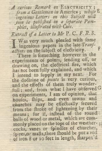 Ben Franklin s Pennsylvania Gazette The Washington Papers