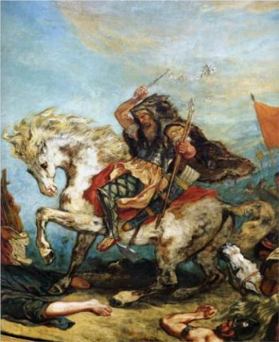 Attila the Hun (Illustration) World History Biographies Famous Historical Events Film Social Studies Legends and Legendary People Famous People