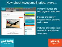 What is AwesomeStories MakerSpace?