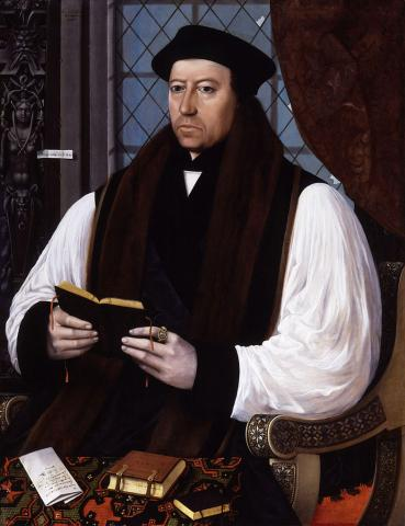 Thomas Cranmer - Archbishop of Canterbury (Illustration) Law and Politics Medieval Times Social Studies World History Biographies Visual Arts Philosophy