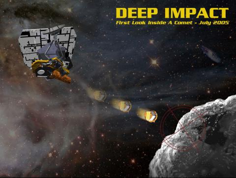 Deep Impact - First Look Inside a Comet Aviation & Space Exploration Visual Arts American History Famous Historical Events Astronomy