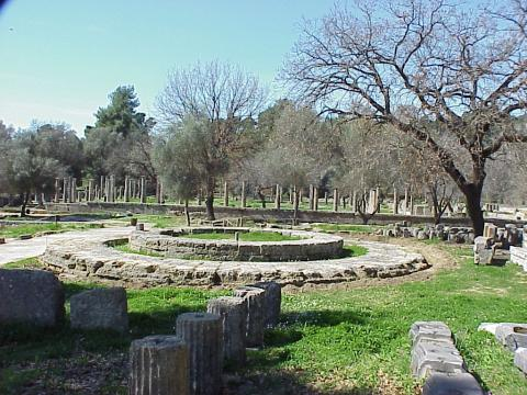 Ancient Olympics - Philippeion Ancient Places and/or Civilizations Archeological Wonders Geography Philosophy
